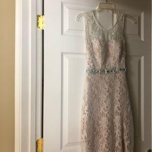 White lace formal dress 5